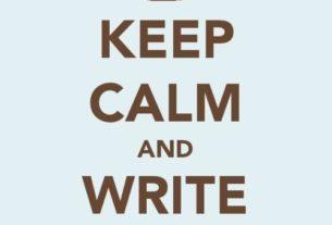 Keep Calm and Write 50k Words