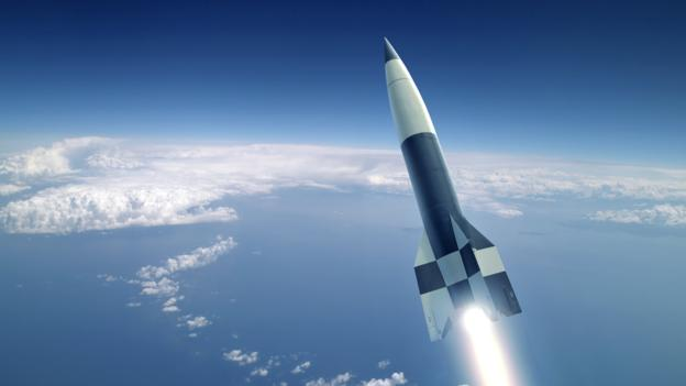 The Nazi V2 Rocket which launched the space age.