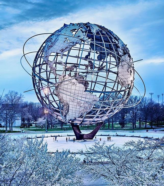 Unisphere from 1968 Worlds Fair